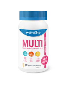 Progressive Progressive - Multi - Adult Women - 60 Caps