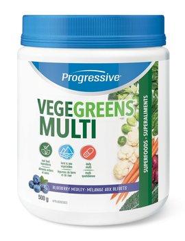 Progressive Progressive - VegeGreens - Multi - Blueberry Medley - 500g