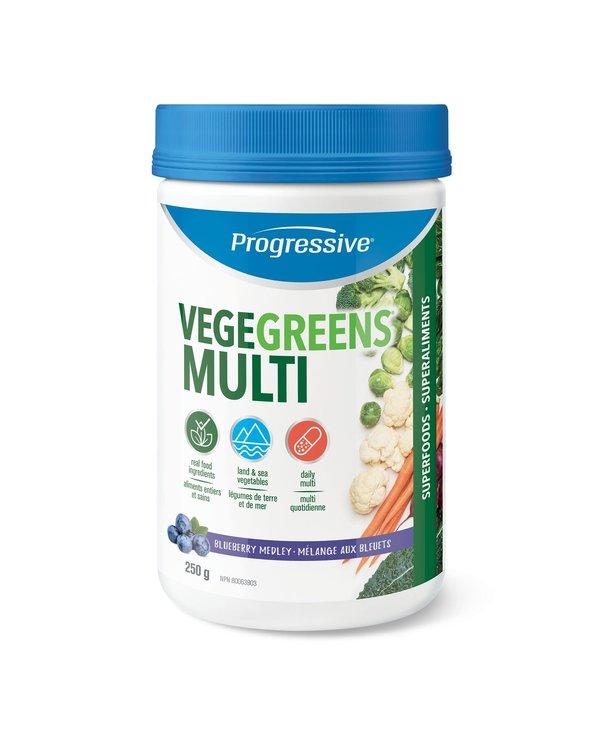 Progressive - VegeGreens - Multi - Blueberry - 250g