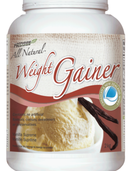 Precision All Natural - Weight Gainer - Vanilla Supreme - 2kg