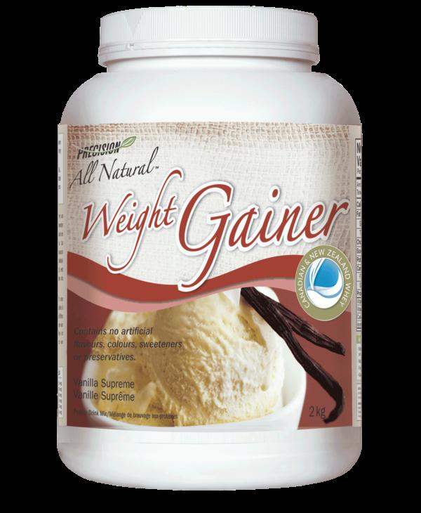 Precision All Natural - Weight Gainer - Vanilla Supreme - 2kg