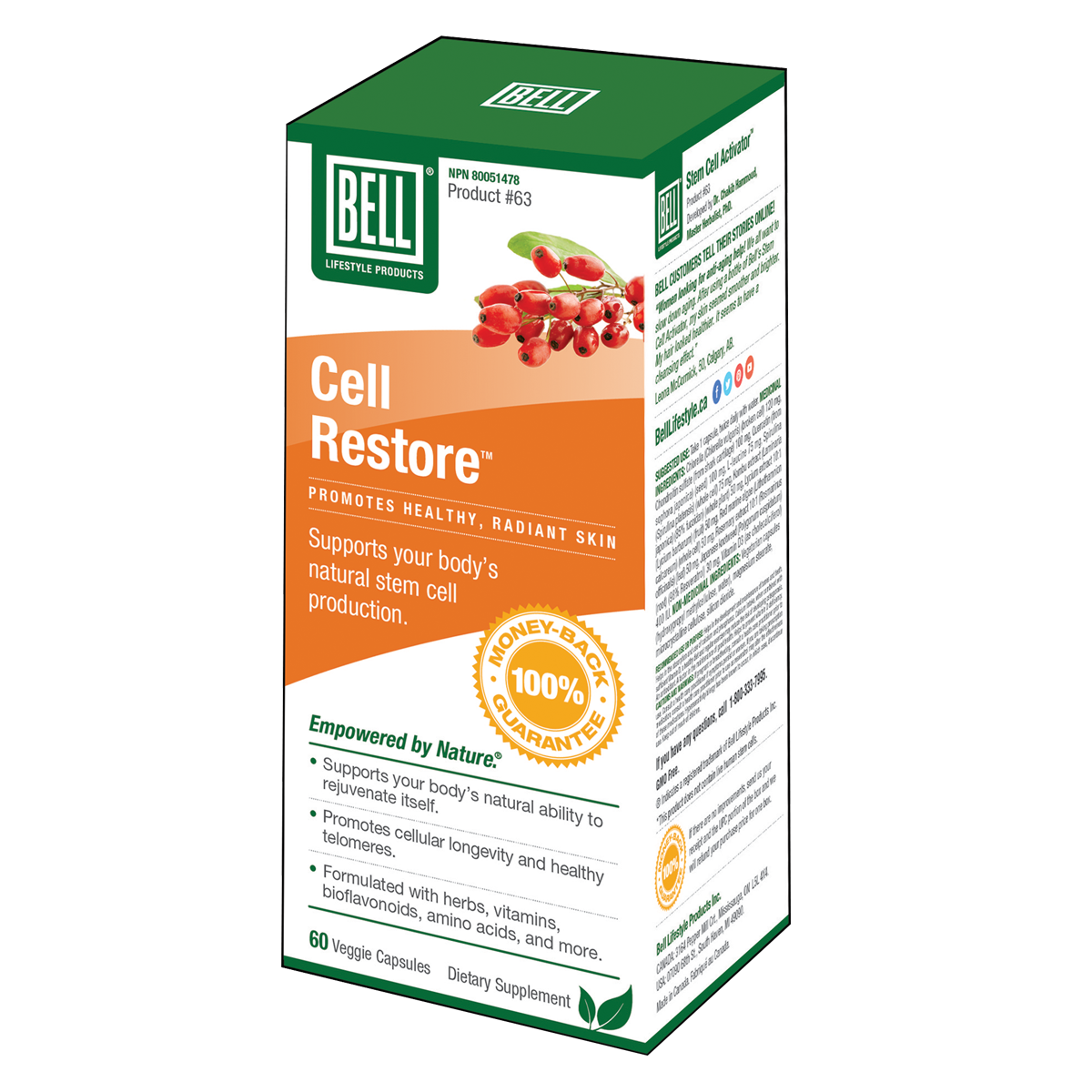 Bell - Cell Restore - 60 V-Caps