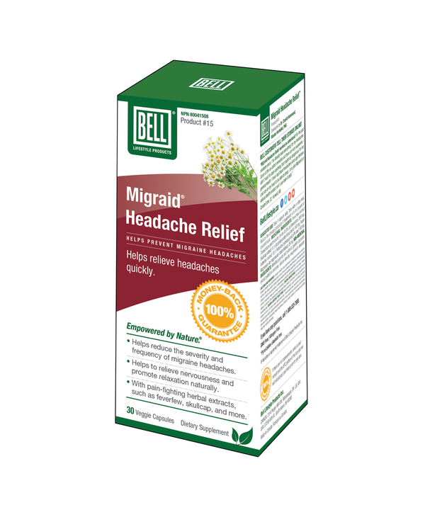 Bell - Migraid Headache Relief - 30 Caps