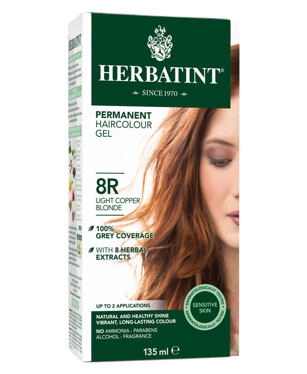 Herbatint - 8R - Light Copper Blonde - 135ml