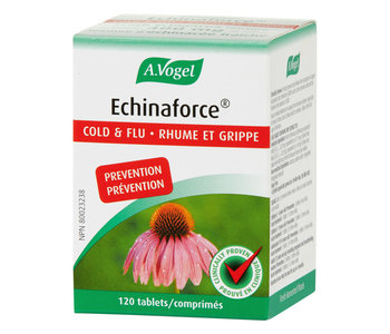 A.Vogel - Echinaforce Cold and Flu  - 120 Tabs