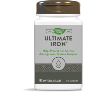 Nature's Way - Ultimate Iron - 90 SG