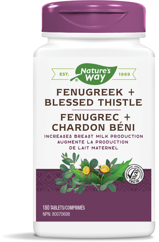 Nature's Way Nature's Way - Fenugreek + Blessed Thistle - 180 Tabs