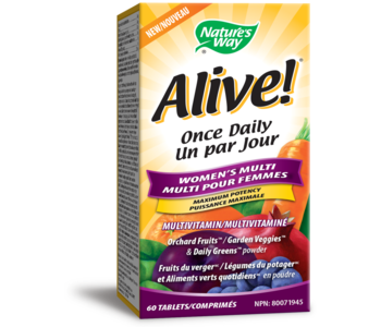 Nature's Way - Alive! Once Daily Women's Multi - 60 Tabs