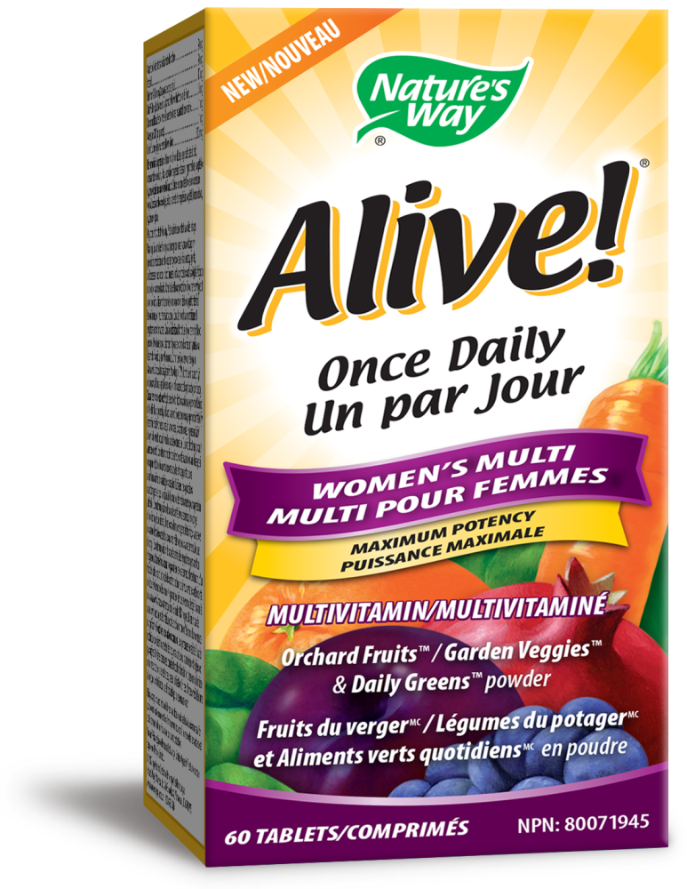 Nature's Way Nature's Way - Alive! Once Daily Women's Multi - 60 Tabs