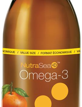 Nutra Sea NutraSea+D - Omega-3 +D - Grapefruit Tangerine - 500ml