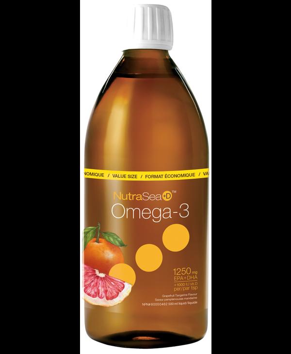 NutraSea+D - Omega-3 +D - Grapefruit Tangerine - 500ml