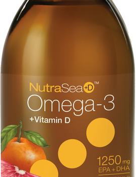 Nutra Sea NutraSea+D - Omega-3 +D - Grapefruit Tangerine - 200ml
