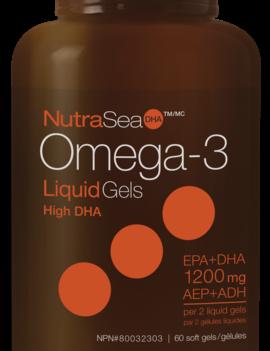 Ascenta NutraSea DHA - Omega-3 High DHA - Fresh Mint - 60 SG