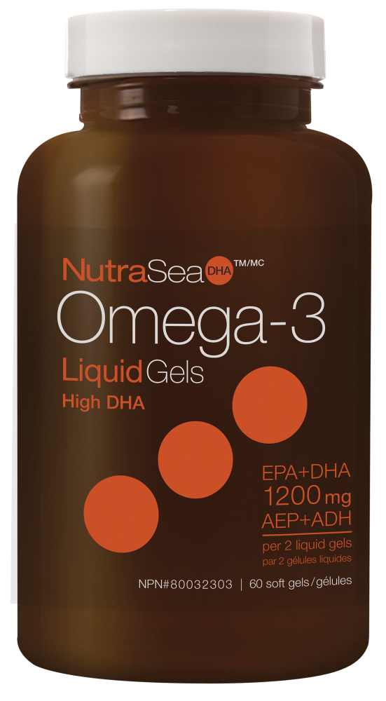Ascenta NutraSea DHA - Omega-3 High DHA - Fresh Mint - 60 SG