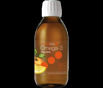 NutraSea DHA - Omega-3 High DHA - Juicy Citrus - 200ml