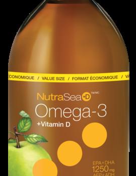 Nutra Sea NutraSea+D - Omega-3 +D - Crisp Apple - 500ml