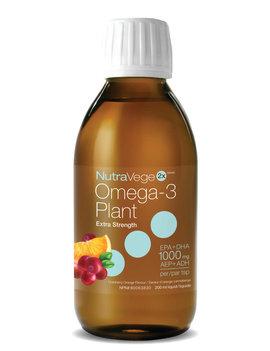 Ascenta NutraVege - Omega-3 Plant - Strawberry & Orange - 200ml