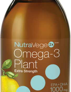Ascenta NutraVege - 2x Omega-3 Plant Extra Strength - Zesty Lemon - 200ml
