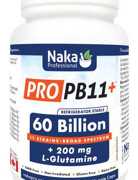 Naka Naka - Pro PB11 60 billion +L glutamine - 30 Caps