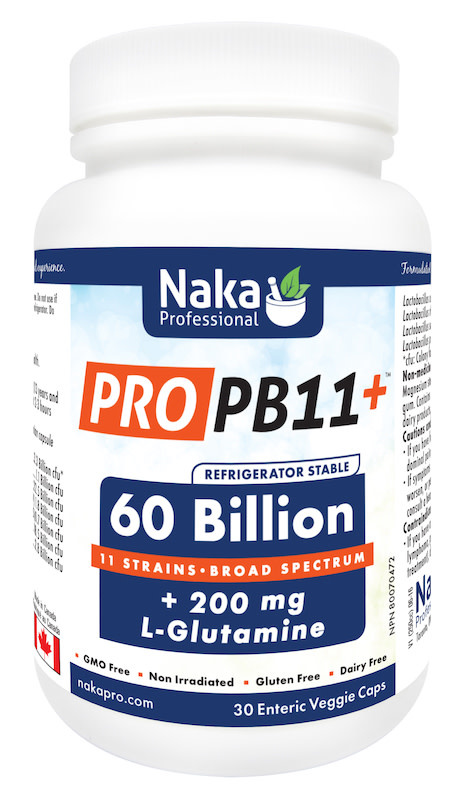 Naka Naka - Pro PB11 60 billion +L glutamine - 30 Caps