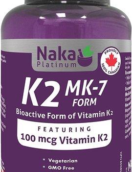 Naka Naka - Vitamin K2 - 100mcg - 150 Caps