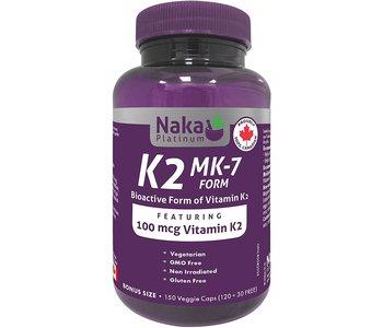 Naka - Vitamin K2 - 100mcg - 150 Caps