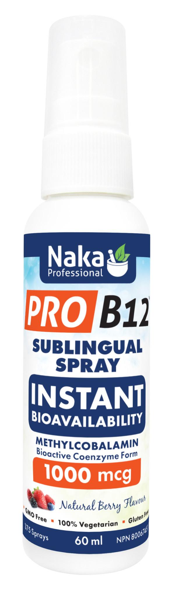 Naka Naka - Pro B12 1000 mcg Spray - 60ml