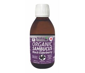 Naka Platinum - Organic Sambucus Black Elderberry - 300 ml