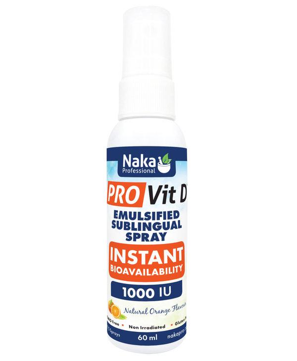 Naka - Pro Vit D Spray - Orange - 60ml
