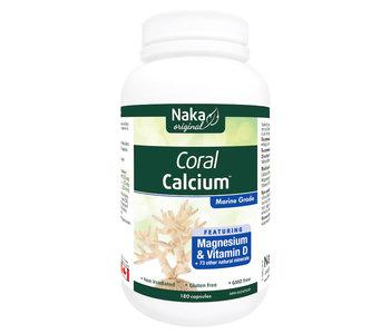 Naka - Coral Calcium - 180 Capsules