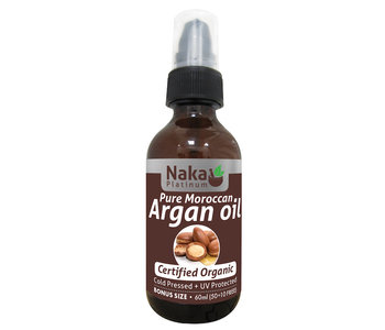 Naka - Argan Oil - Organic - 60ml