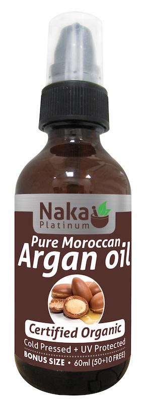 Naka Naka - Argan Oil - Organic - 60ml