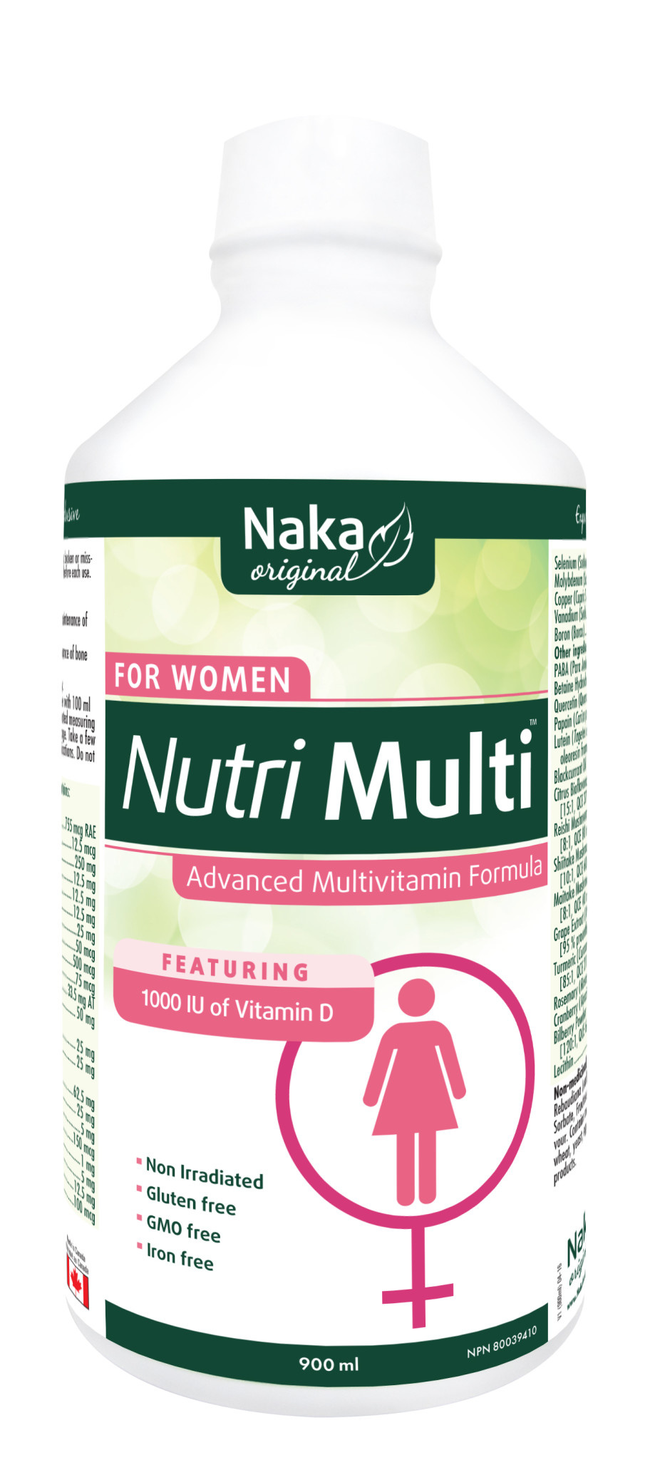 Naka Naka - Nutri Multi For Women - 900ml