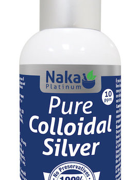 Naka Naka - Pure Colloidal Silver - 120ml Spray