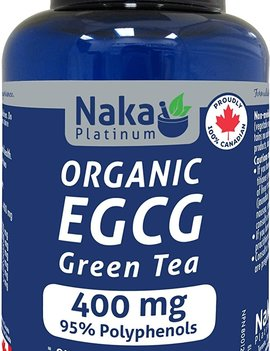 Naka Naka - ECCG Green Tea 400mg - Organic - 75 V-Caps Bonus Size