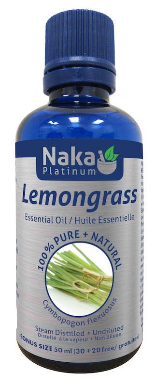 Naka Naka - Essential Oil - Lemongrass - 50ml