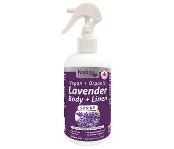 Naka - Body + Linen Spray - Lavender - 340ml Bonus Size