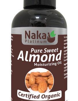 Naka Naka - Almond Oil - Organic - 130ml