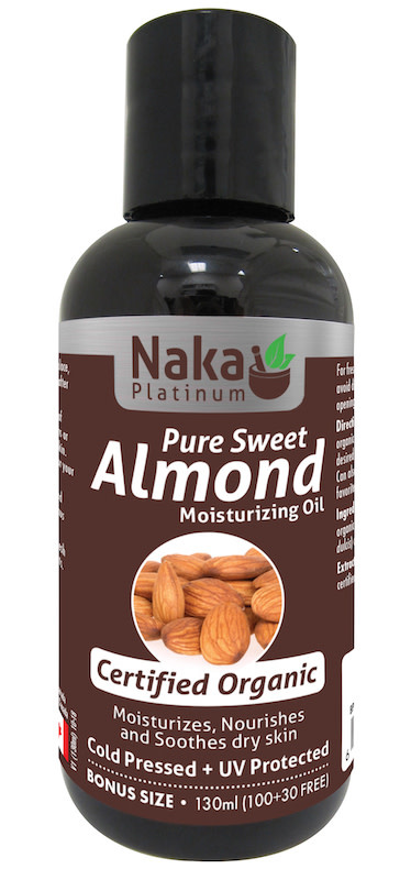 Naka Naka - Almond Oil - Organic - 130ml