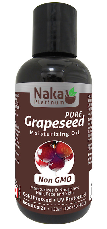 Naka Naka - Grapeseed Oil - Non GMO - 130ml