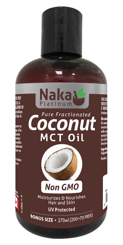 Naka Naka - Coconut MCT Oil - Non GMO - 270ml