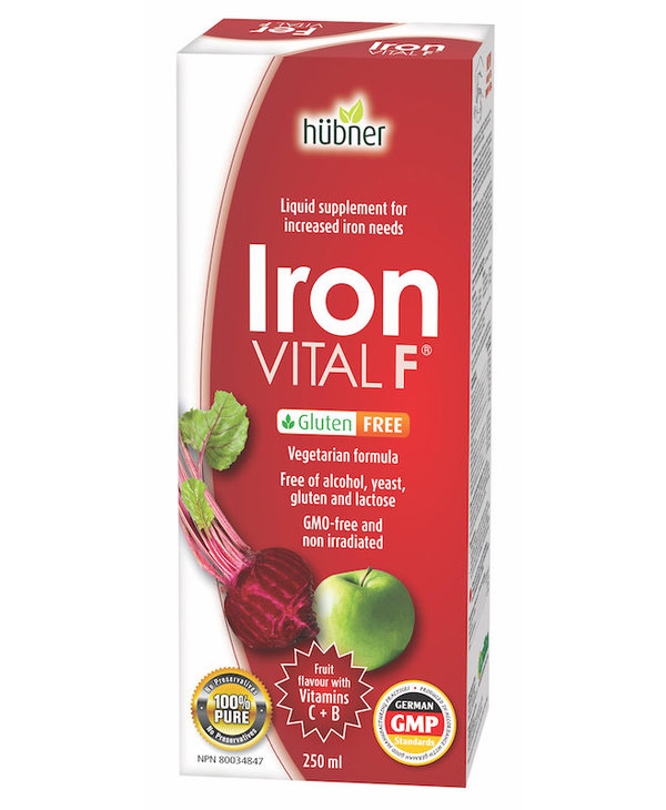 Hubner - Iron Vital F Gluten Free - 500ml