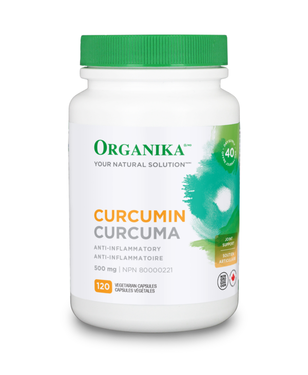Organika - Curcumin 500mg - 120 V-Caps