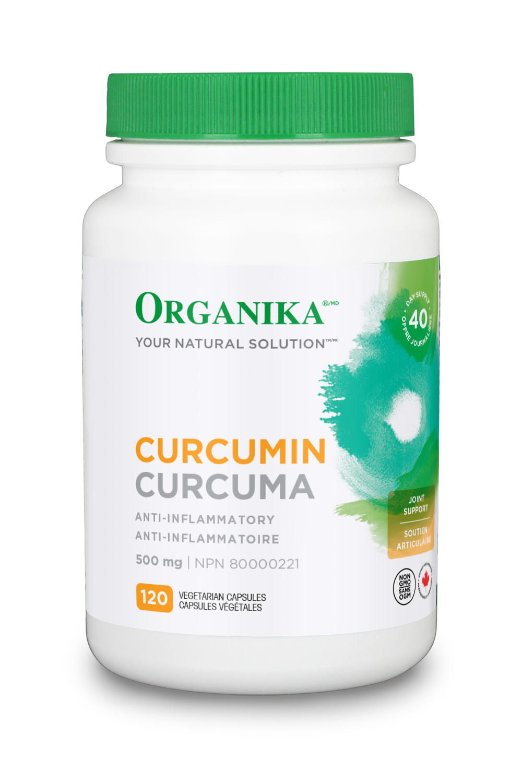 Organika Organika - Curcumin 500mg - 120 V-Caps