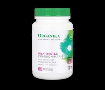 Organika - Milk Thistle 250mg - 180 V-Caps