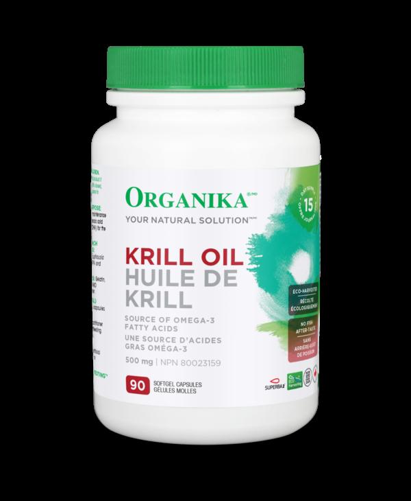 Organika - Krill Oil 500 mg - 90 SG