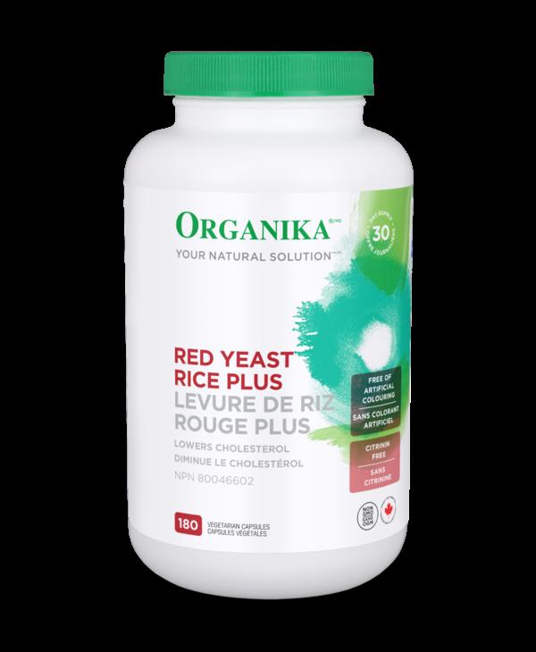 Organika - Red Yeast Rice - 180 V-Caps
