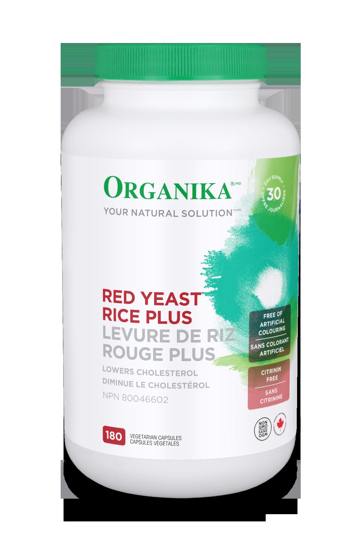 Organika Organika - Red Yeast Rice - 180 V-Caps