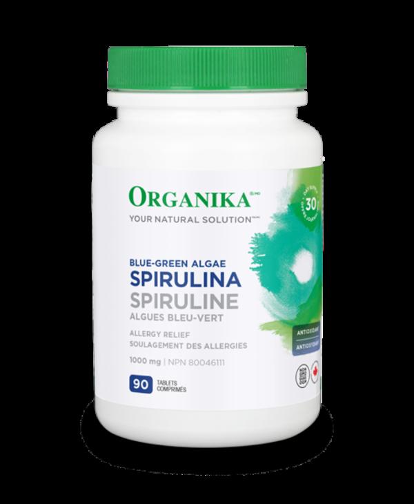 Organika - Spirulina 1000mg - 90 Tabs