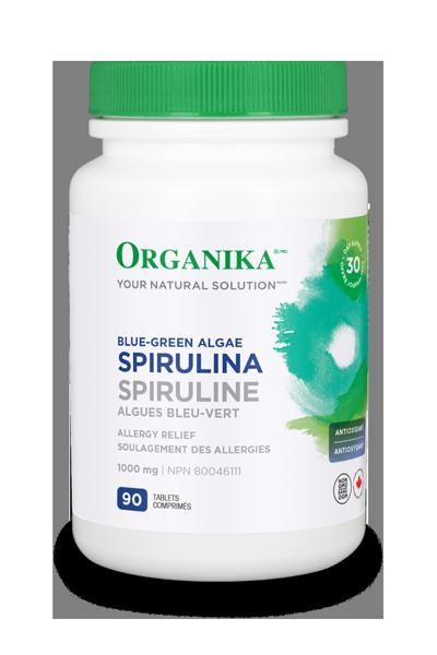 Organika Organika - Spirulina 1000mg - 90 Tabs